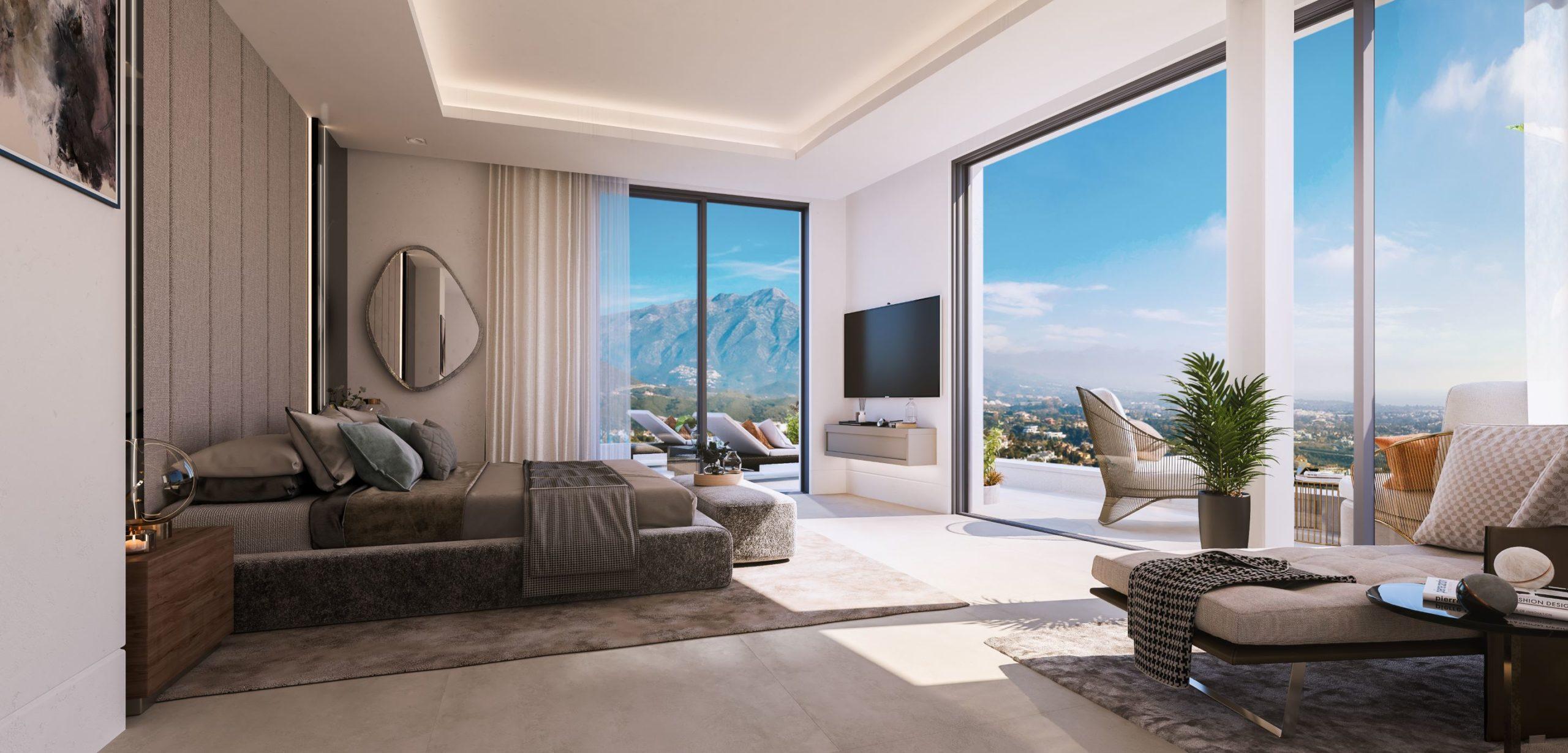 Grand View Marbella Bedroom